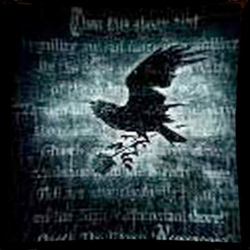 Nevermore wall hanging