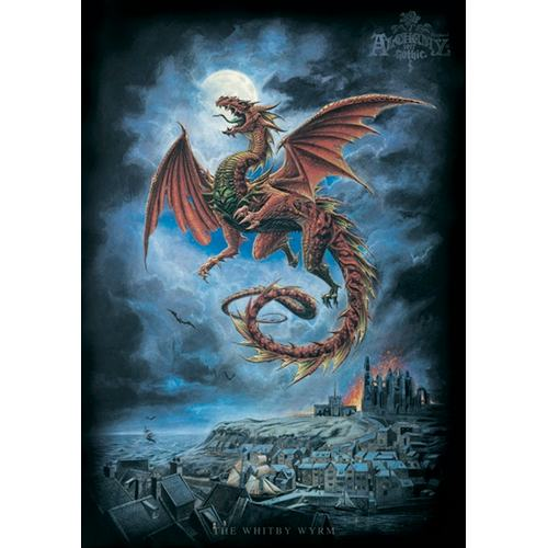 Whitby Wyrm Wall Hanging