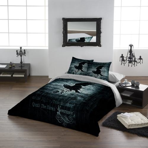 Nevermore Duvet Set - Double