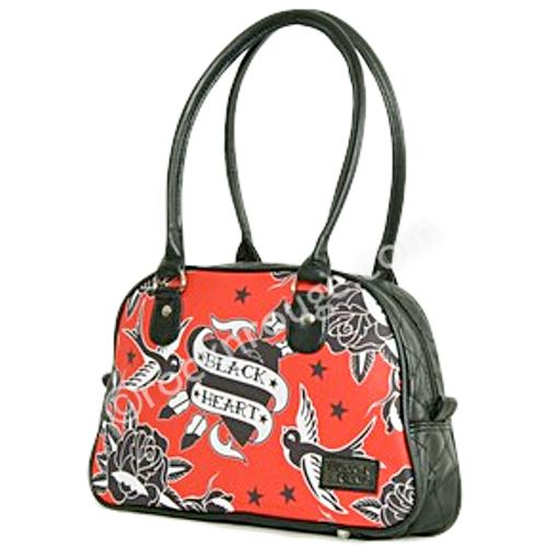 Black Heart bowling bag