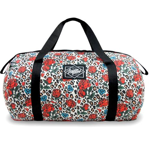 Leopard, Roses and Diamonds Duffel Bag