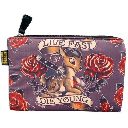 Live Fast Bambi accessories bag
