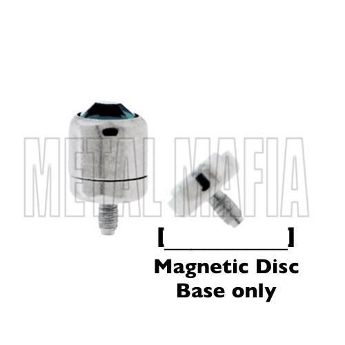 Magnetic Microdermal - Disc Base