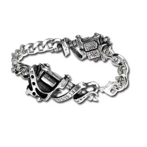 Tattoo Machine Bracelet