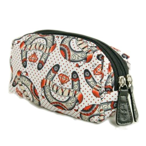 Double Zipped make up bag - Lucky me