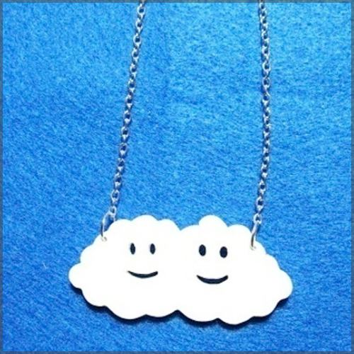 Happy Clouds Necklace