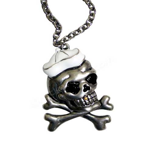 Sailor Skull Necklace